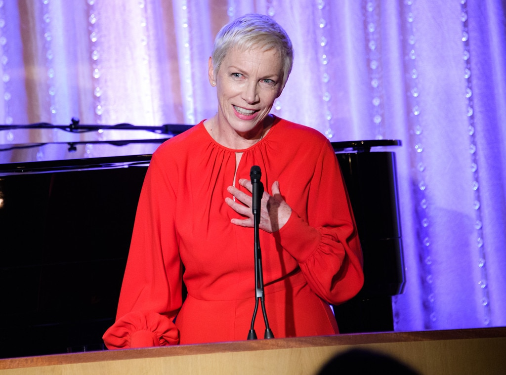 "Annie Lennox -  The singer, song-writer, political activist and philanthropist graced the crowd with her vocal talents. She wrote on  Twitter , ""Thank you for giving me the platform to advocate for  # OneReasonWhyImAGlobalFeminist."""