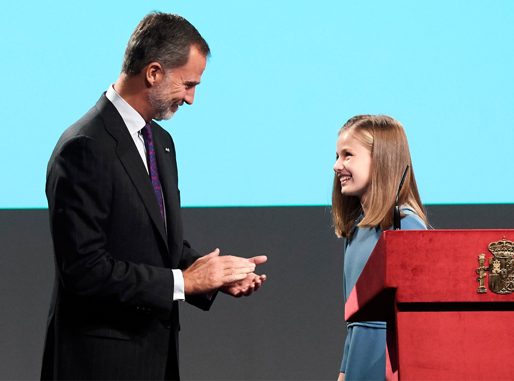 King Felipe VI of Spain, Princess Leonor of Spain