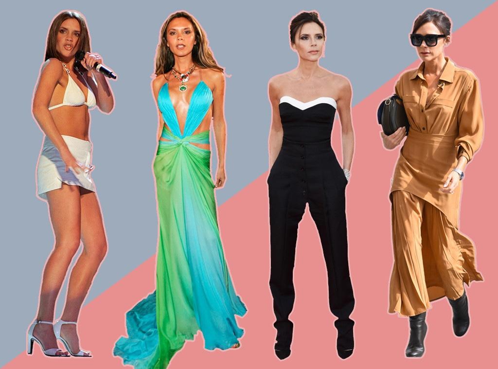 Victoria Beckham, style evolution