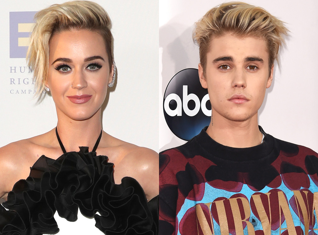 Katy Perry, Justin Bieber