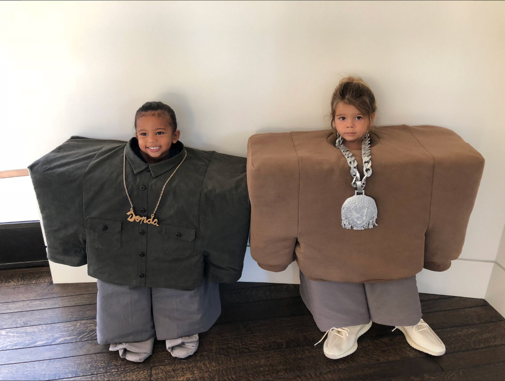 North West Halloween Costume 2020 The Kardashian & Disick Kids' Costume Is a Shout Out to Kanye West