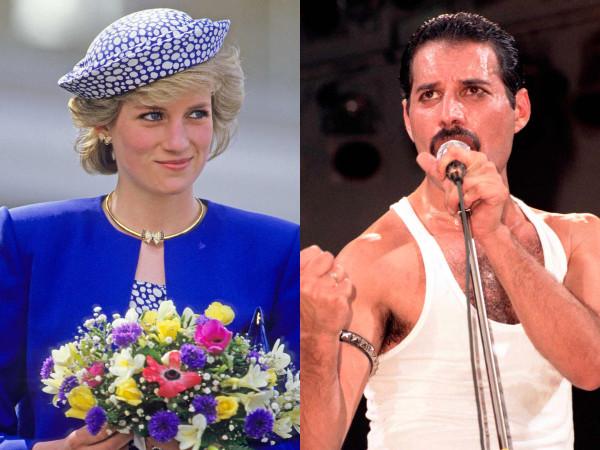 Princesa Diana, Freddie Mercury