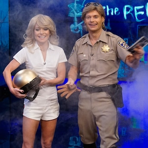 Live with Kelly and Ryan, Kelly Ripa, Ryan Seacrest, Halloween 2018