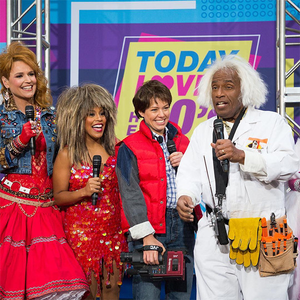 Al Roker, Dylan Dreyer, Savannah Guthrie, Sheinelle Jones, Today Show, Halloween 2018