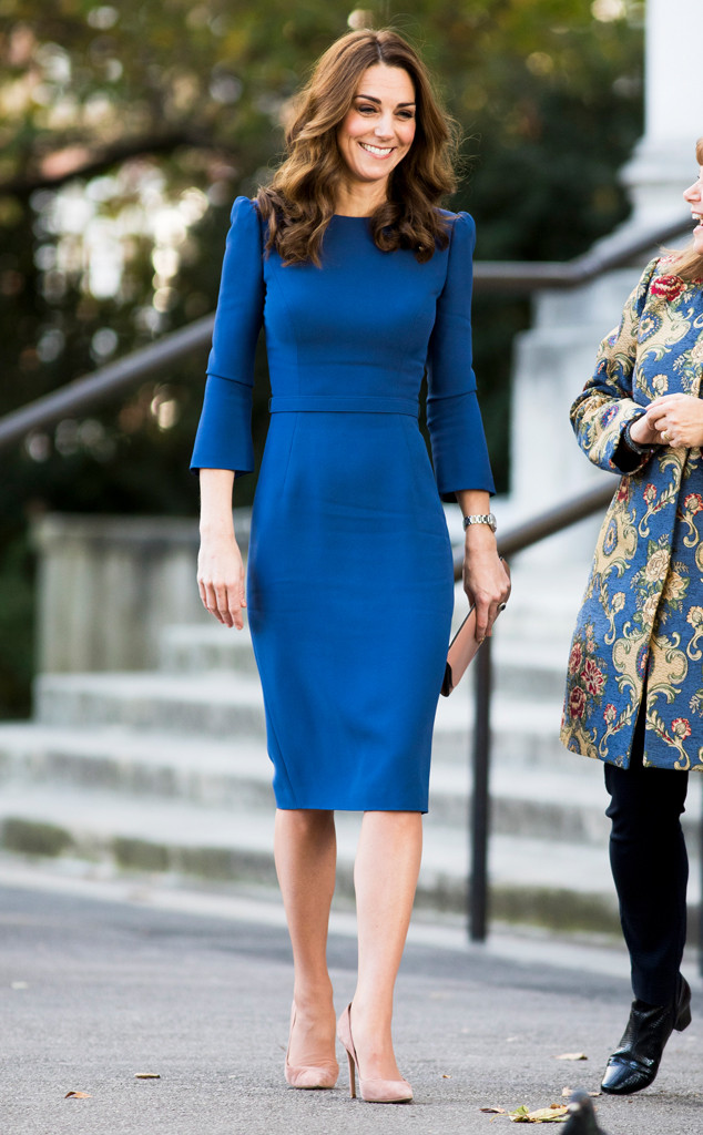 Kate Middleton S Blue Dress Proves You Don T Need A