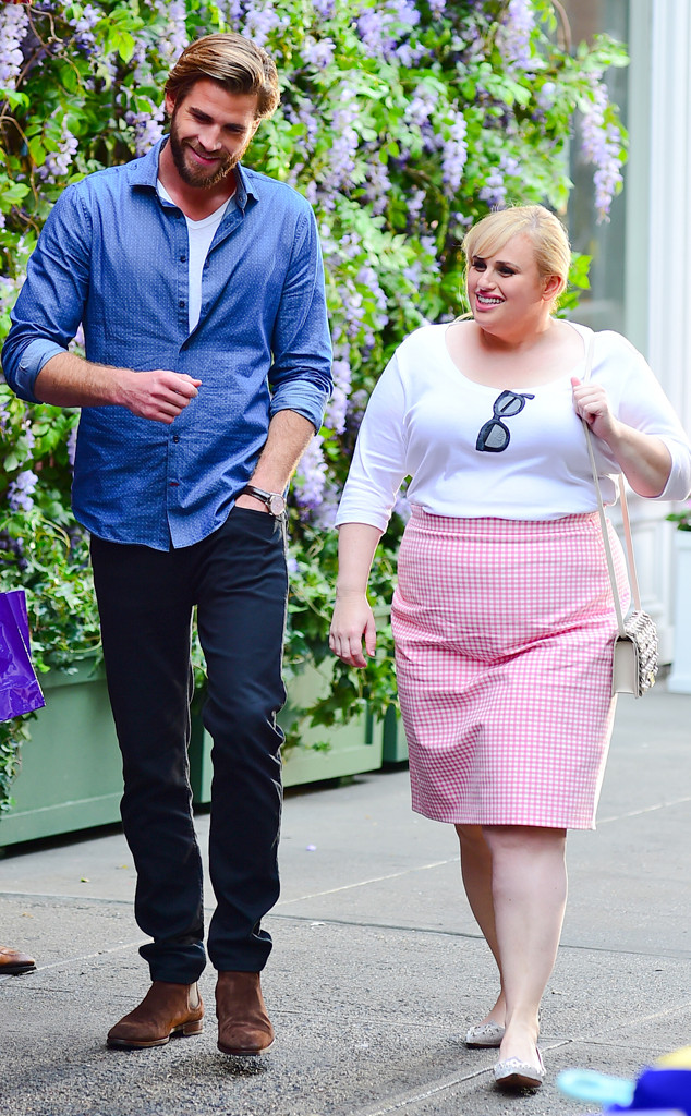 Liam Hemsworth, Rebel Wilson, Isn't It Romantic
