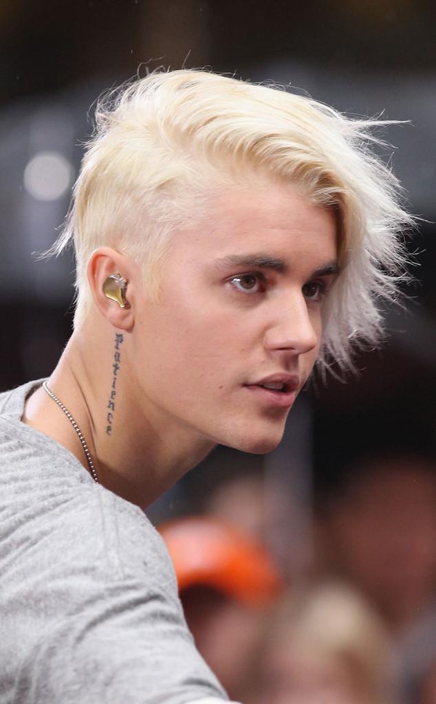 Justin Bieber, Hair, 2015