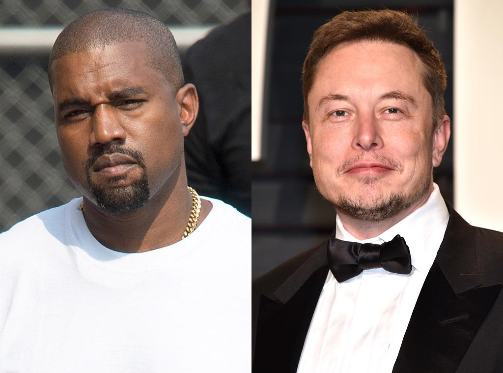 Kanye West, Elon Musk