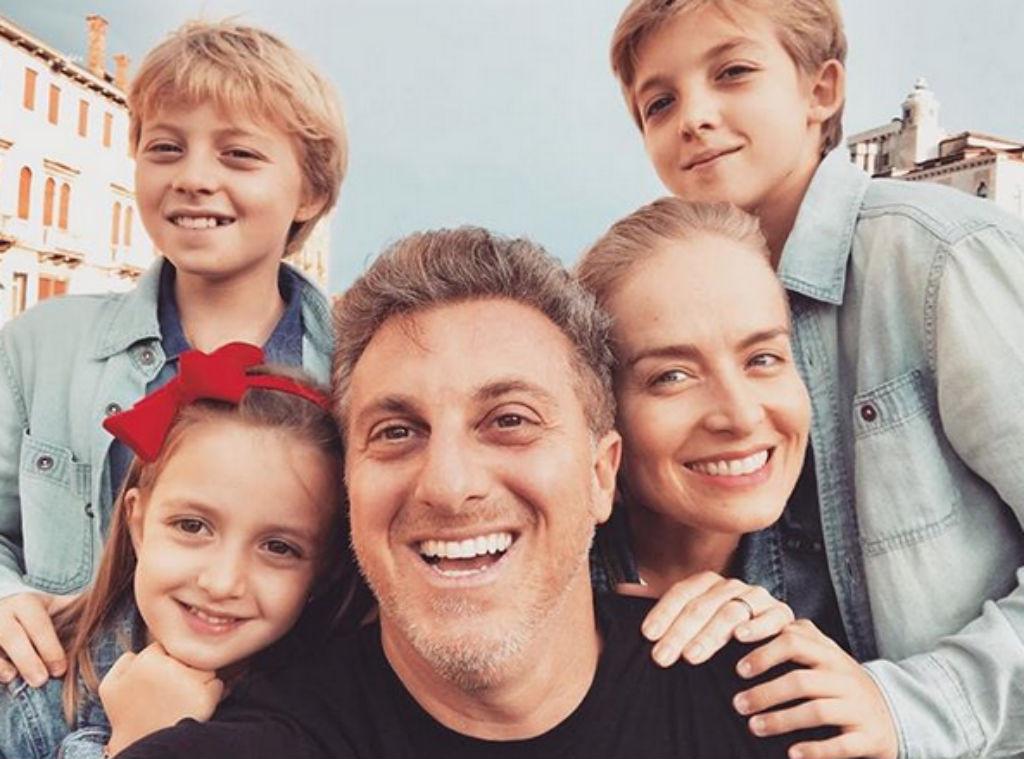 Angélica, Luciano Huck, filhos