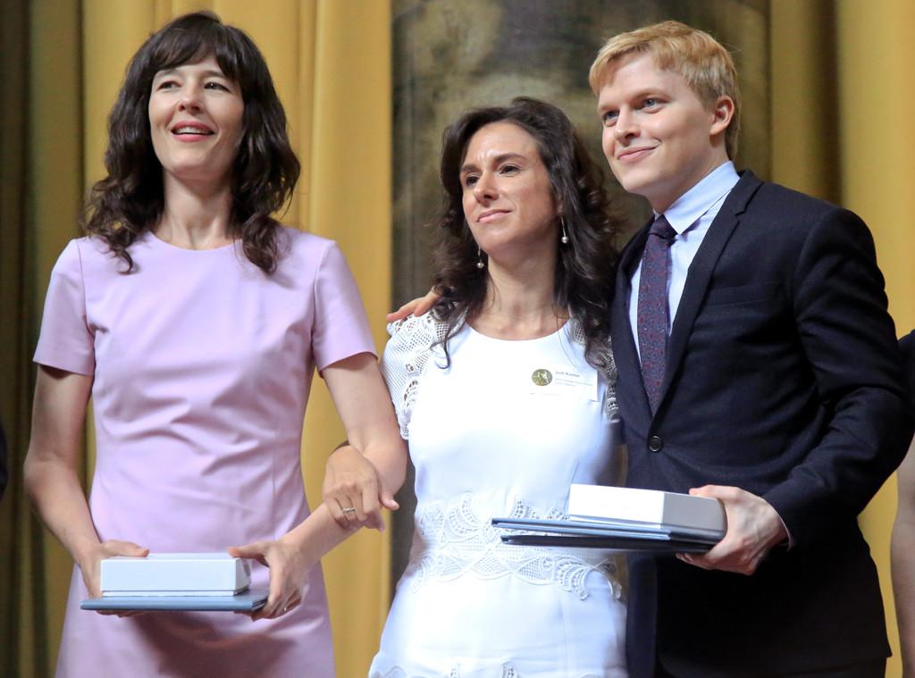 Ronan Farrow, 2018 Pulitzer Prize winners