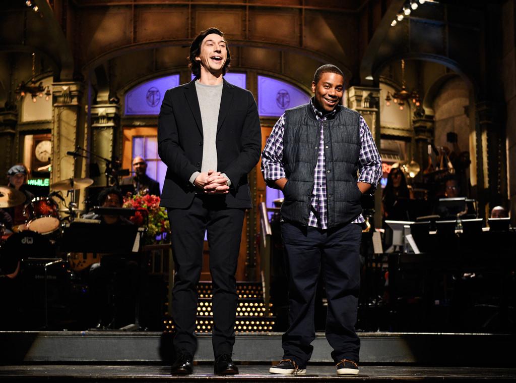 Adam Driver, Kenan Thompson, Saturday Night Live Season 44