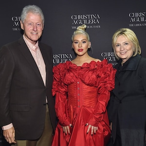 Bill Clinton, Christina Aguilera, Hillary Clinton