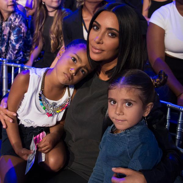 Kim Kardashian, North West, Penelope Disick, Dancing With The Stars: Juniors