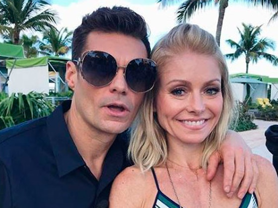 Kelly Ripa & Ryan Seacrest Have Way Too Much Fun Together and We Have Pictures to Prove It!
