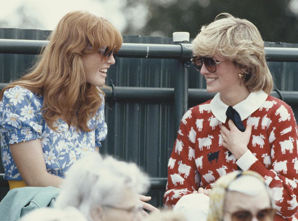 Duchess Sarah Ferguson, Princess Diana
