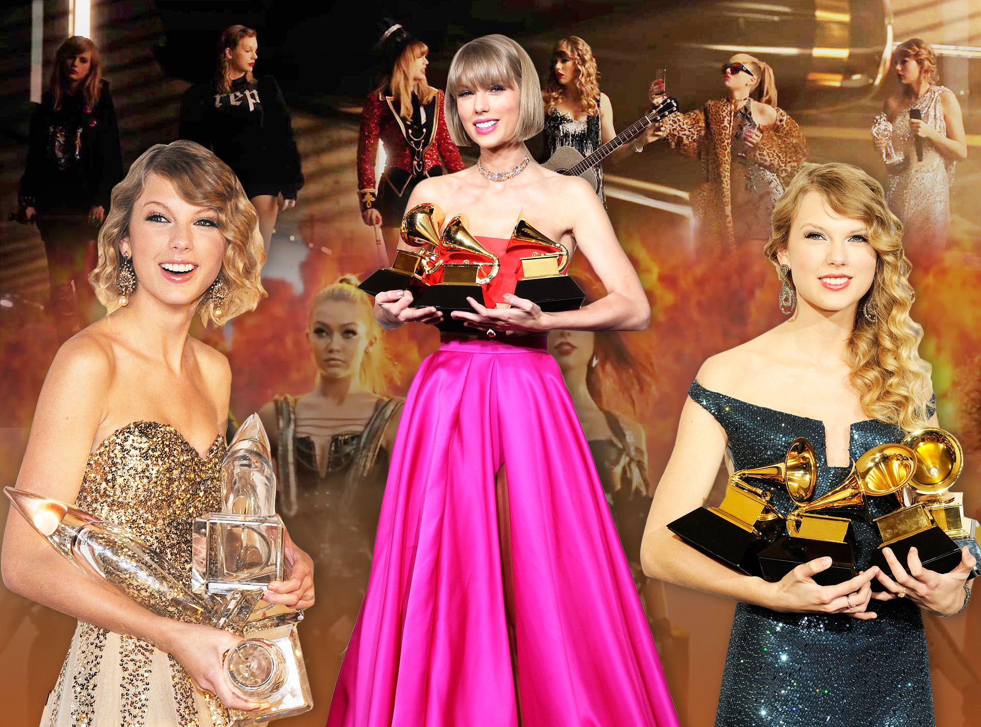 Revisit 10 Of Taylor Swift S Record Breaking Moments Ahead Of The Amas E Online