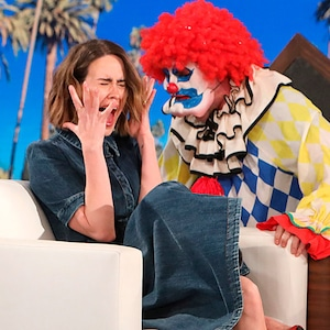 Sarah Paulson, The Ellen DeGeneres Show, Scared