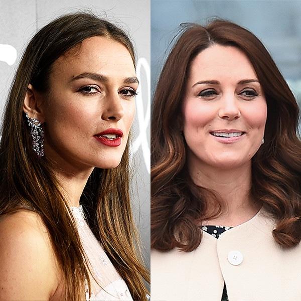 Keira Knightley, Kate Middleton