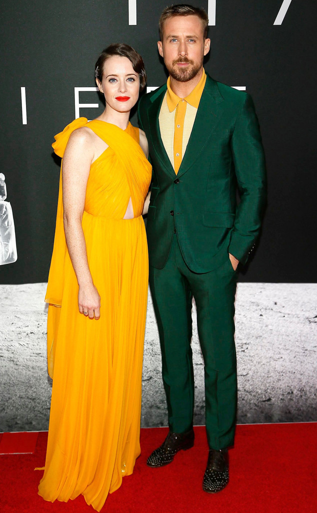 Claire Foy, Ryan Gosling, First Man Premiere
