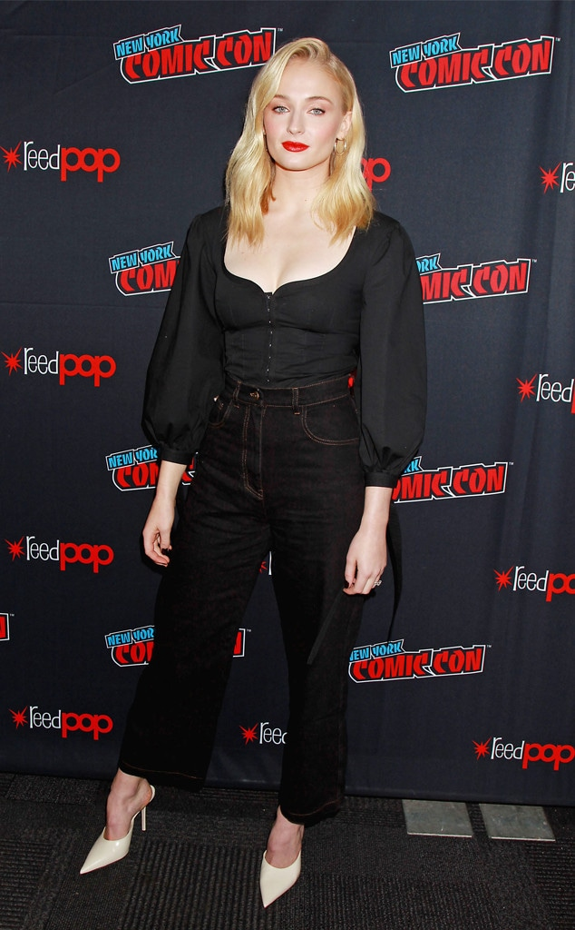 Sophie Turner, New York Comic Con 2018