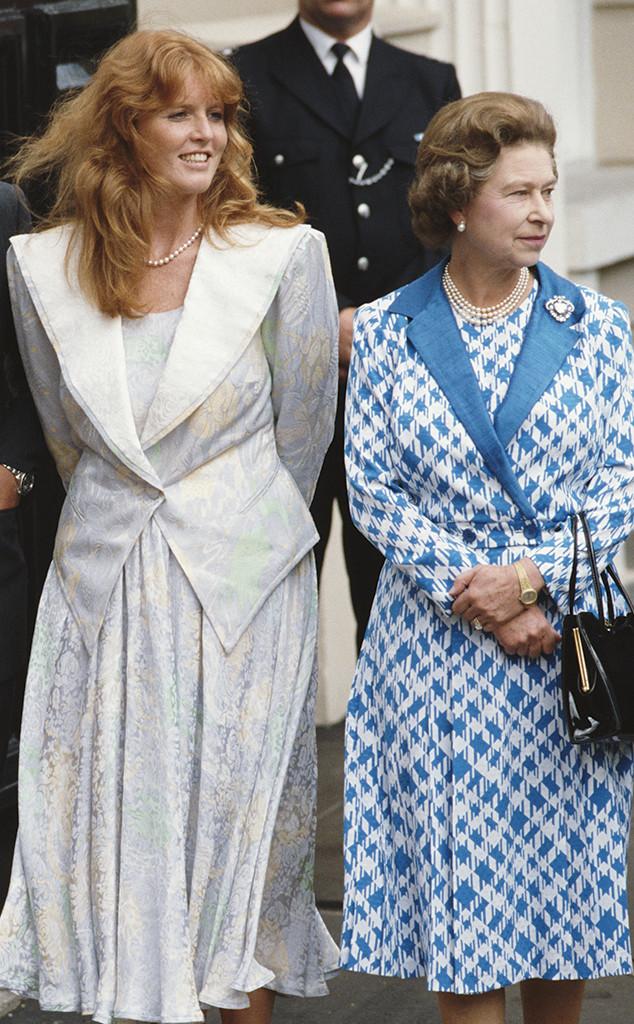 Duchess Sarah Ferguson, Queen Elizabeth II