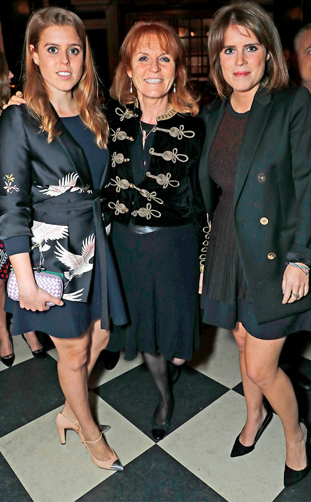 Duchess Sarah Ferguson, Princess Beatrice, Princess Eugenie