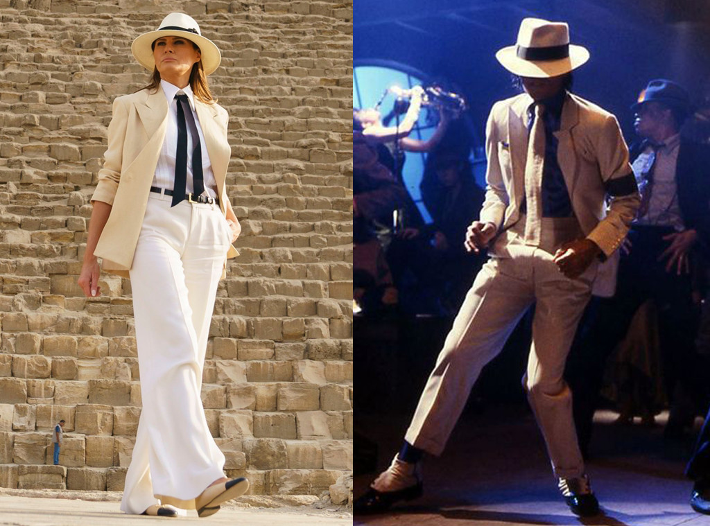 Melania Trump, Michael Jackson, Smooth Criminal