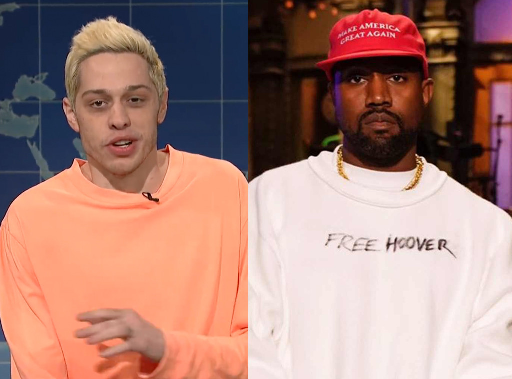 Kanye West, Pete Davidson, SNL
