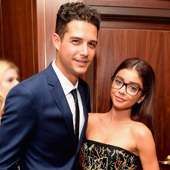 The Silver Lining Of Sarah Hylands Health Struggles How They Helped Her Find True Love With Wells Adams E News