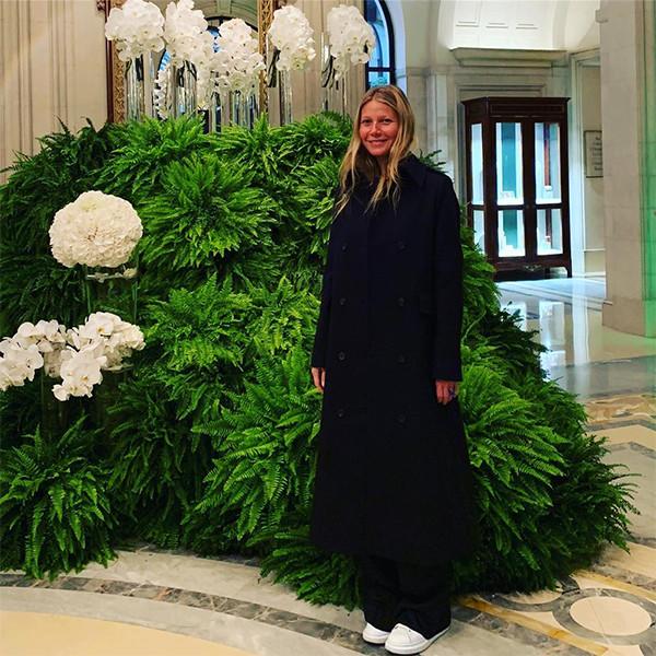 Gwyneth Paltrow, Honeymoon, Paris, Hotel, Four Seasons, Instagram