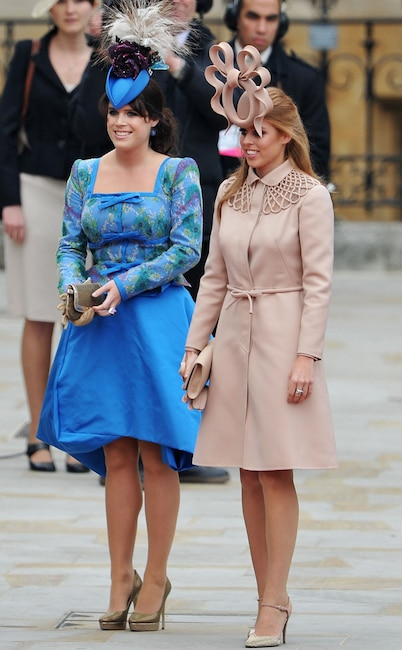 Princess Beatrice, Princess Eugenie, Royal Wedding 2011