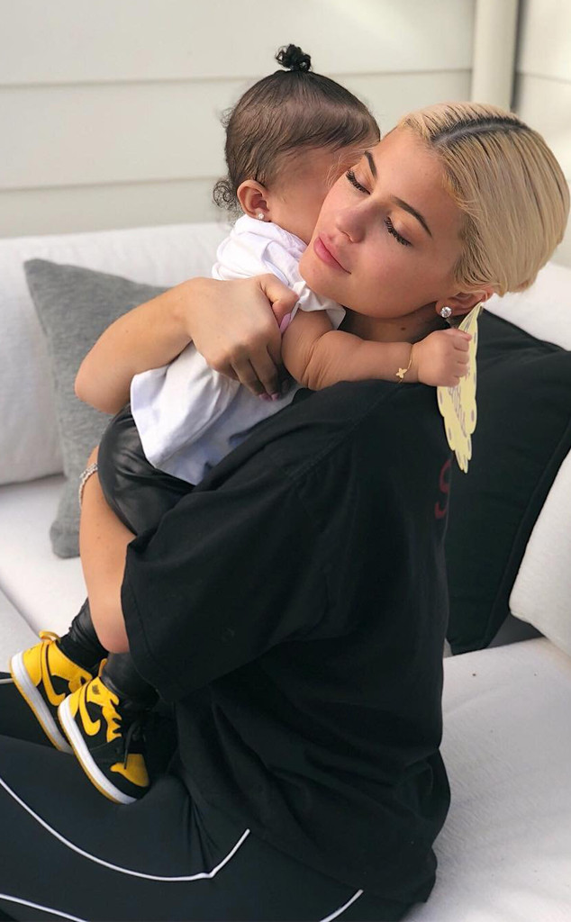 Kylie Jenner, Stormi Webster, 8 Months Birthday