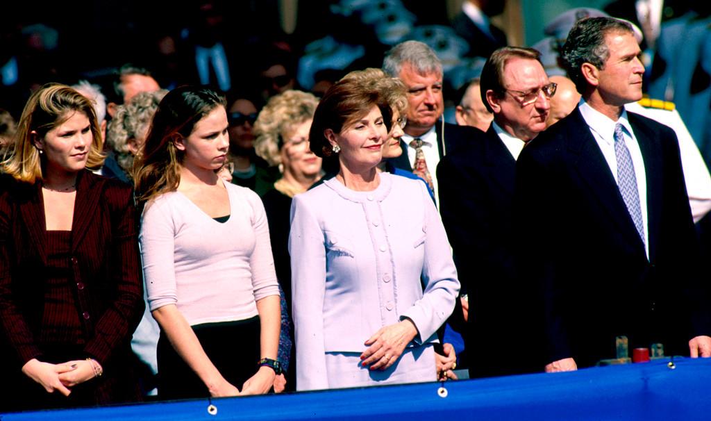 Jenna Bush, Barbara Bush, George W. Bush Governor Inauguration