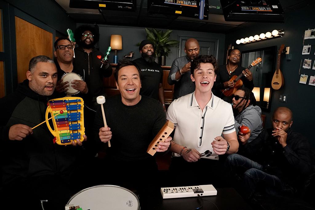 Shawn Mendes, Jimmy Fallon, Tonight Show