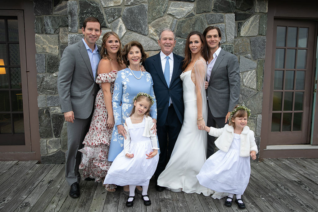 Barbara Bush, Wedding, Family