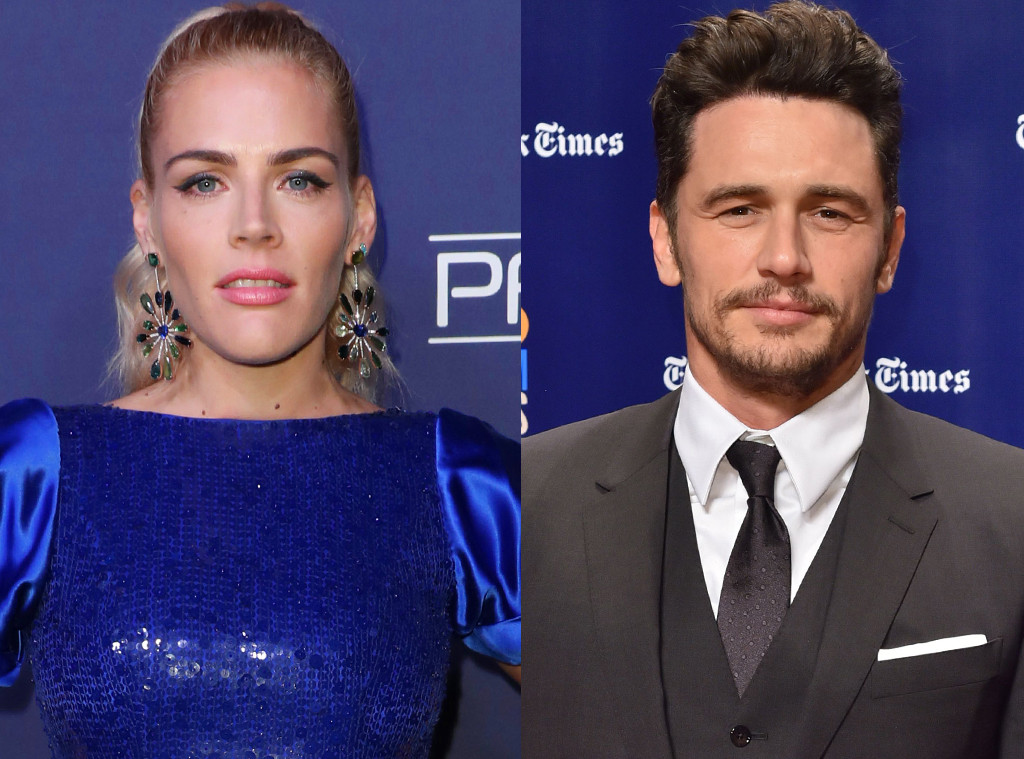 Busy Philipps, James Franco
