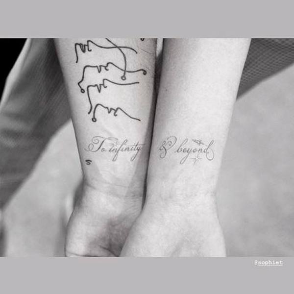 Joe Jonas, Sophie Turner, Tattoo