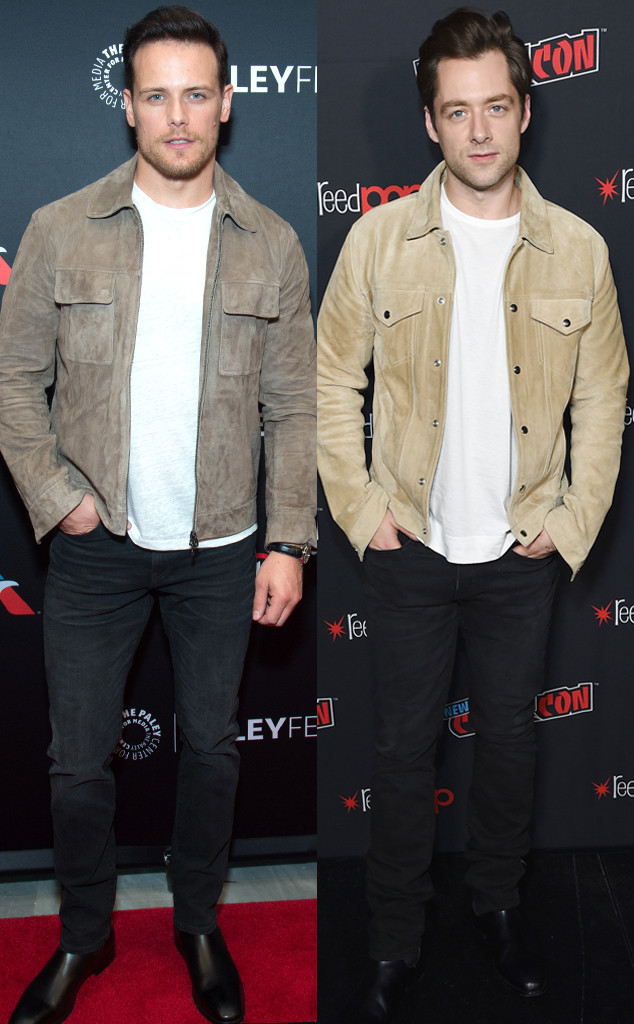 Sam Heughan, Richard Rankin