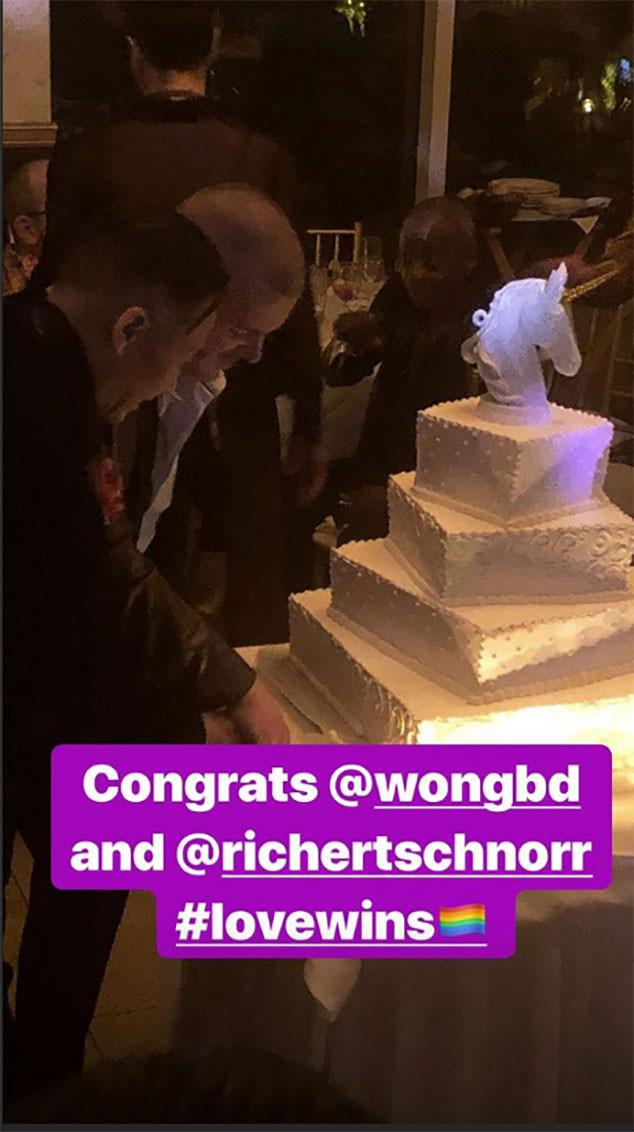 BD Wong, wedding