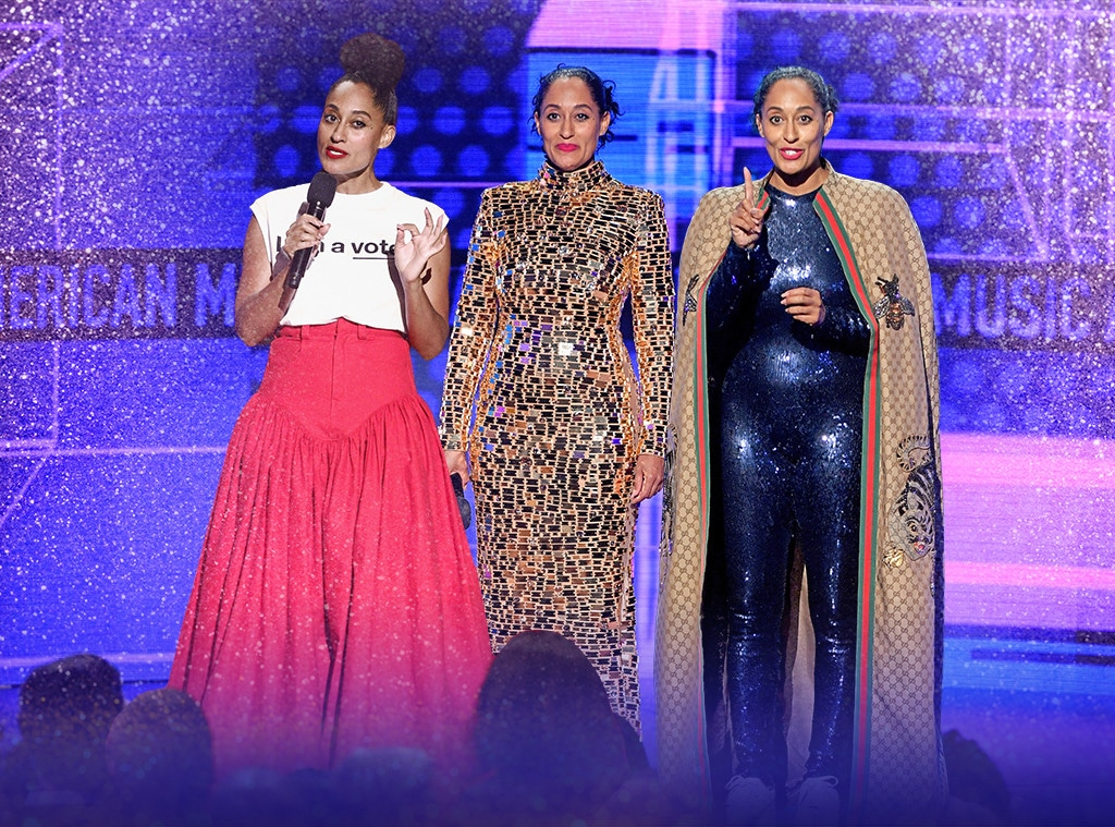 Tracee Ellis Ross, 2018 American Music Awards, Outifts