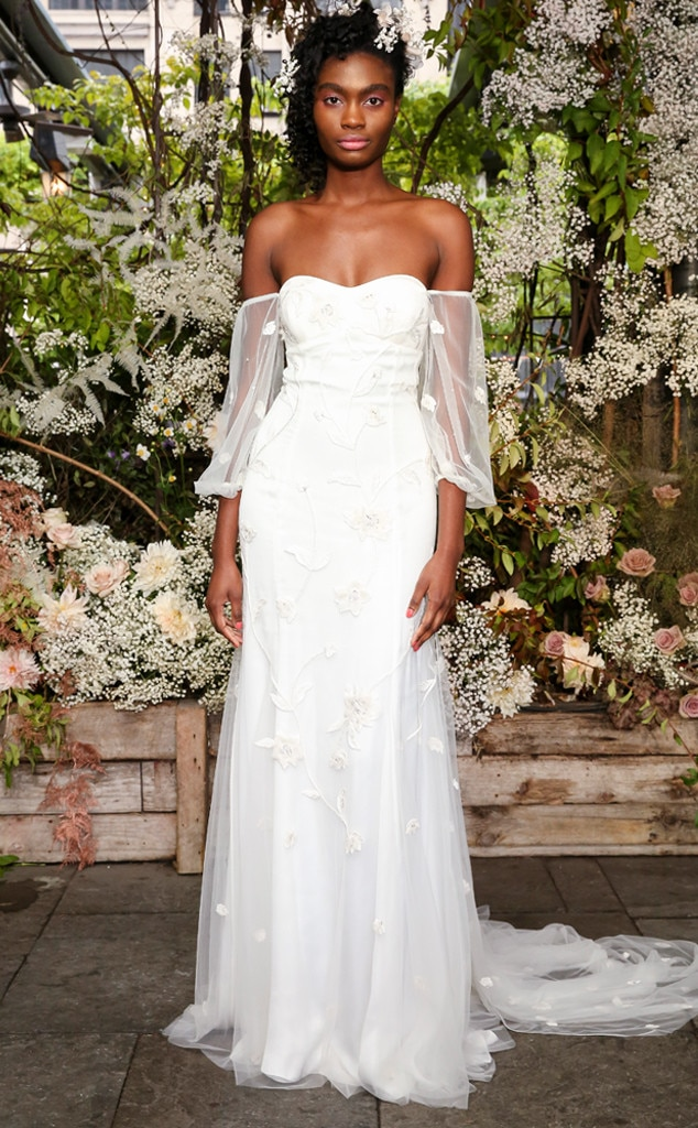 Alexandra Grecco From Best Looks From Bridal Fashion Week Fall 2019