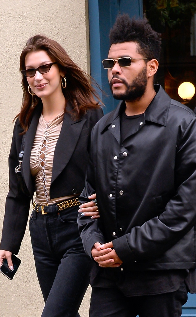 Bella Hadid, The Weeknd