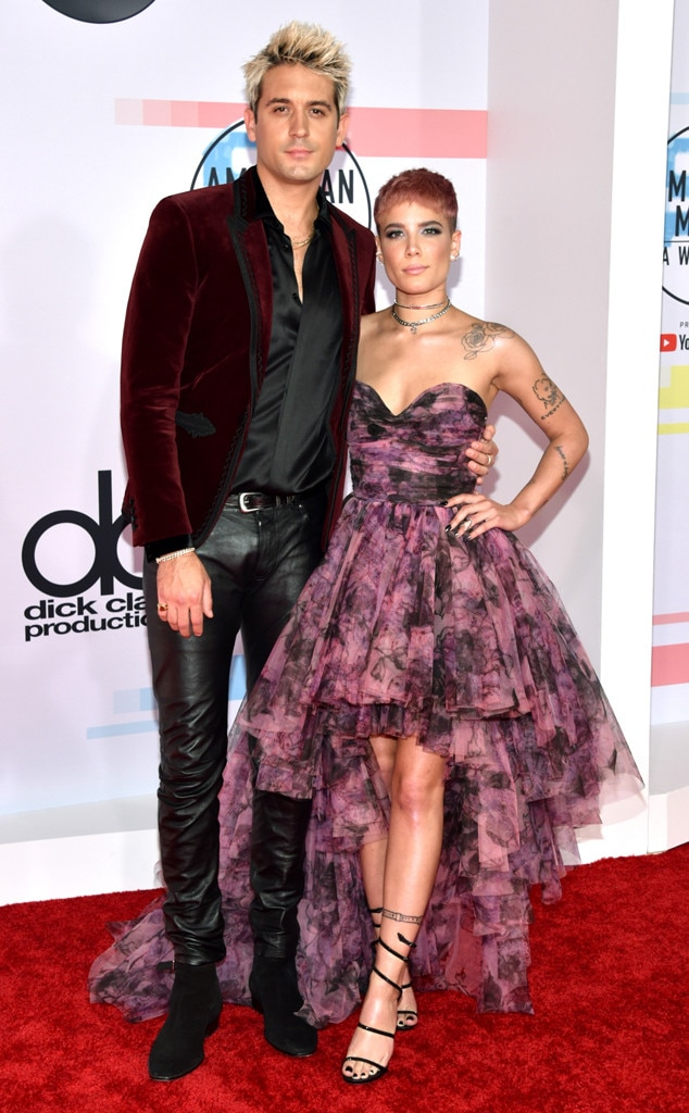 G-Eazy, Halsey, 2018 American Music Awards, 2018 AMAs