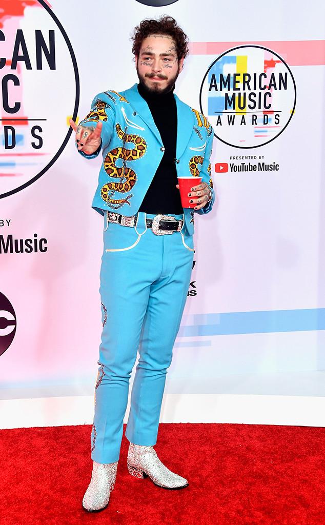 Post Malone, 2018 American Music Awards, 2018 AMAs