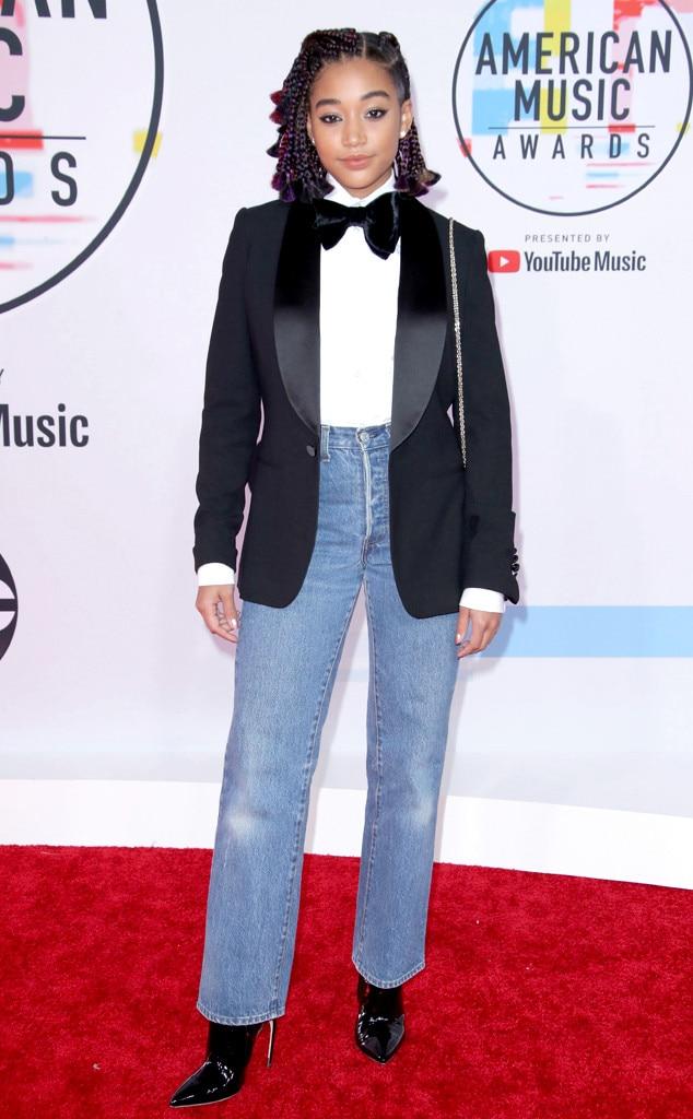 Amandla Stenberg, 2018 American Music Awards, 2018 AMA's