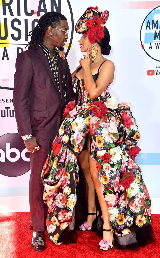 Mom Dad From Cardi B And Offset Romance Rewind E News