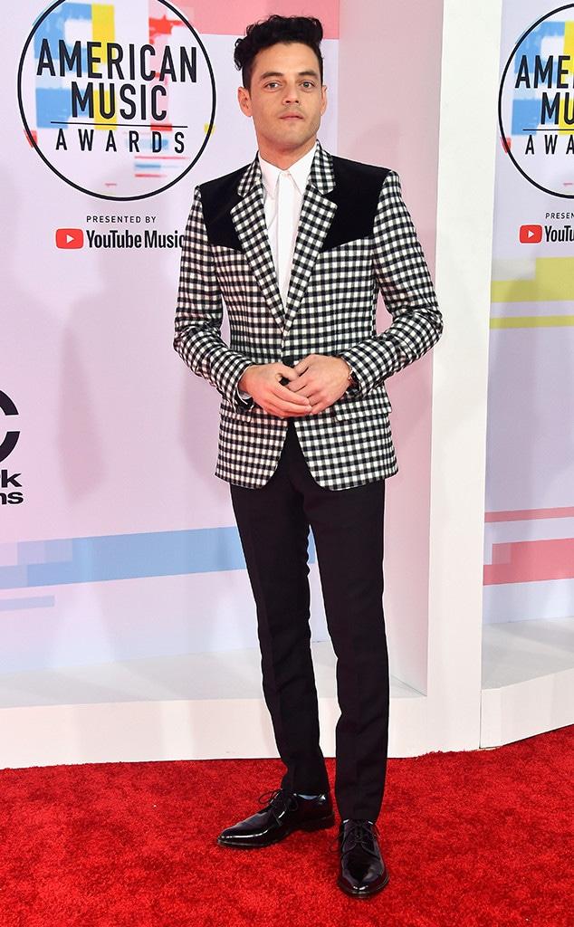 Rami Malek, 2018 American Music Awards, 2018 AMAs
