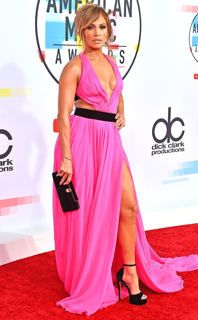 Jennifer Lopez, 2018 American Music Awards, 2018 AMAs