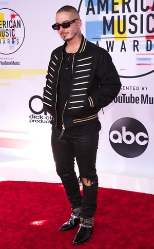 J Balvin, 2018 American Music Awards, 2018 AMA's