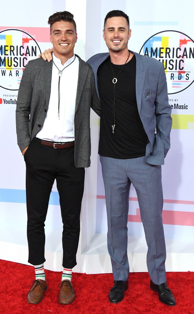 Dean Unglert, Ben Higgins, 2018 American Music Awards, 2018 AMA's